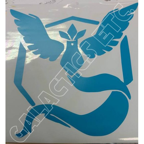 Pokemon Go Mystic Valor Vinyl Decal (Brand: )