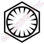 First Order Symbol Vinyl Decal image