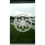 Galactic Republic Symbol Vinyl Decal image