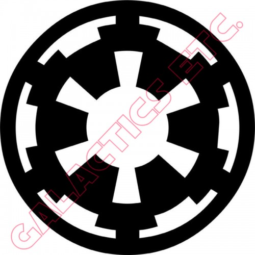 Imperial Cog Vinyl Decal (Brand: )