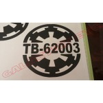 Custom TK ID Imperial Cog Decal image