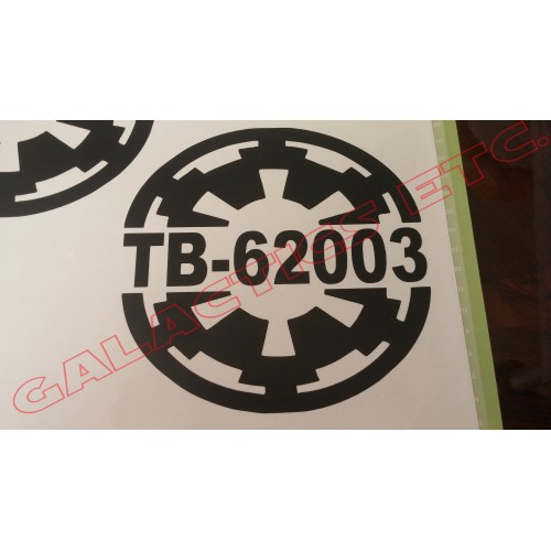 Custom TK ID Imperial Cog Decal (Brand: )