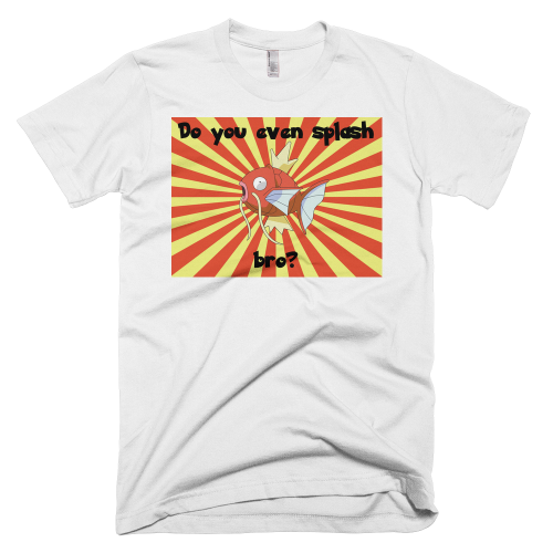 Magikarp Splash T-Shirt (Brand: )
