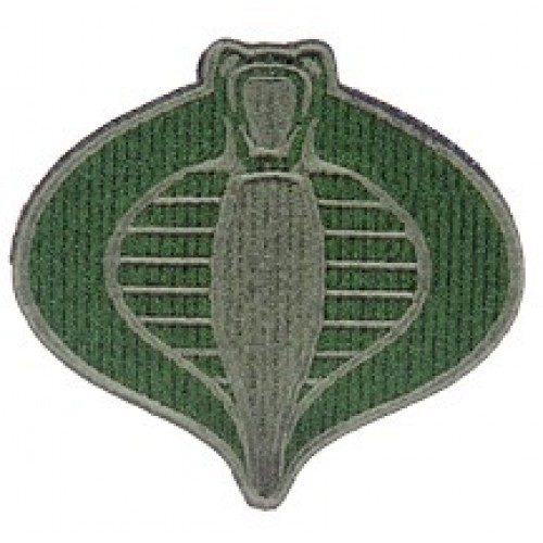 UKARMS Cobra Commander Velcro Patch (OD) (Brand: UK Arms)