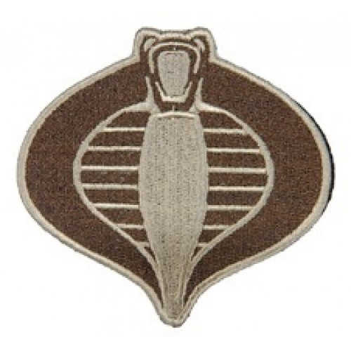 UKARMS Cobra Commander Velcro Patch (Tan) image