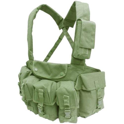 Condor 7 Pocket Tactical Chest Rig, OD Green (Brand: )