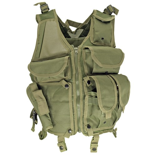 Lightweight Mesh Tactical Vest, OD Green image