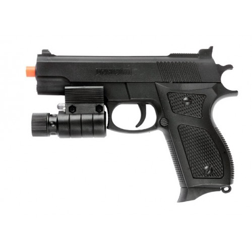 UK Arms M777R Spring Airsoft Pistol with Laser Sight (Brand: UK Arms)