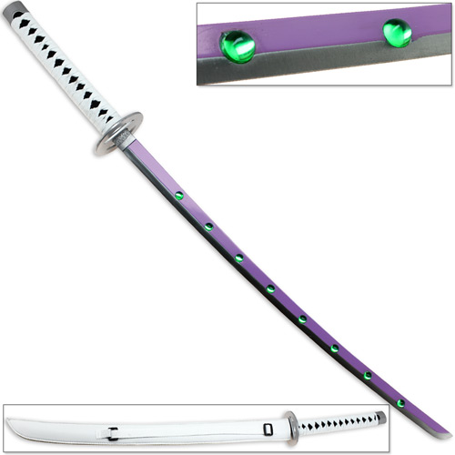 Blue Exorcist Anime Sword Shura Kirigakure - Carbon Steel Replica Demon Katana (Brand: )