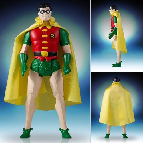 "DC 12"" Super Powers Collection Vintage Jumbo Figures - Robin"