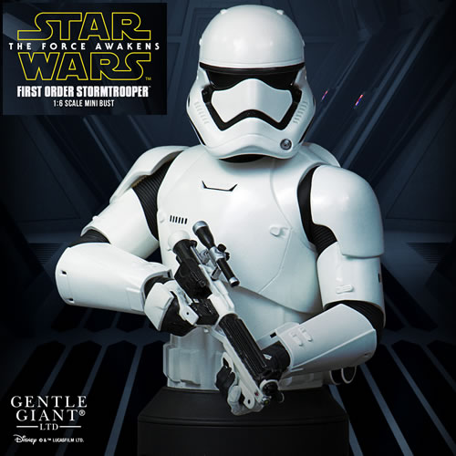 Star Wars Mini Bust - Ep VII The Force Awakens - First Order Stormtrooper (Brand: Gentle Giant)