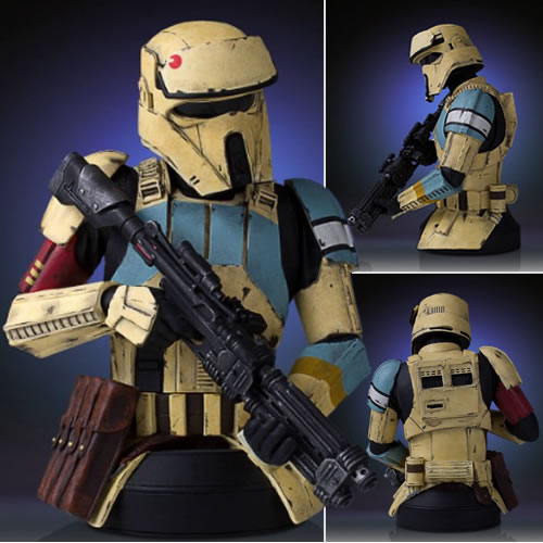 Star Wars Mini Busts - 1/6 Scale Rogue One Shore Trooper