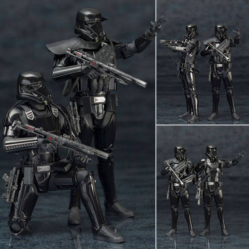 Star Wars ArtFX+ Statues - Rogue One - 1/10 Scale Death Trooper 2-Pack Statues