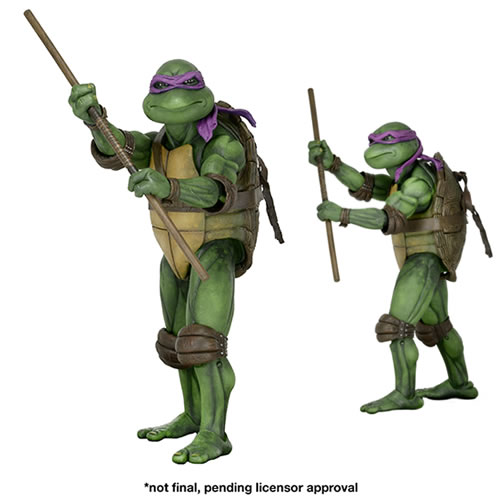 TMNT 1/4th Scale Figures - Donatello 1990 Movie Version