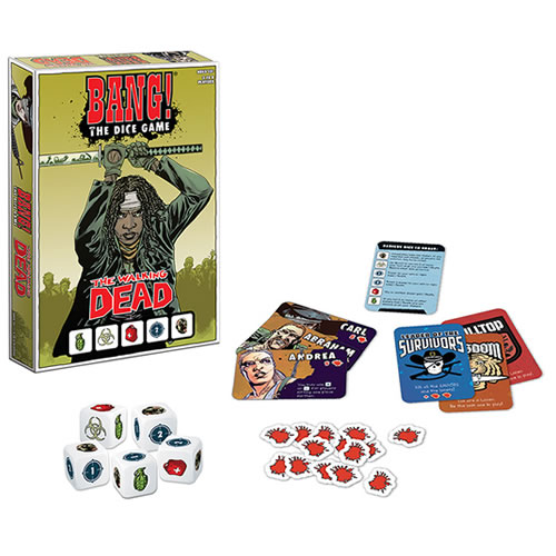 Card Games - Bang! The Walking Dead Dice Game (Brand: )