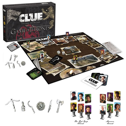 Boardgames - Clue - Game Of Thrones image