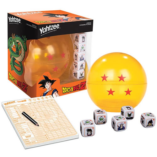 Yahtzee - Dragon Ball Z