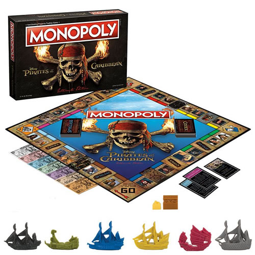 Monopoly - Pirates Of The Caribbean Ultimate Edition