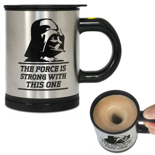 Drinkwear & Mugs - Star Wars - Darth Vader Self-Stirring Mug (Brand: )