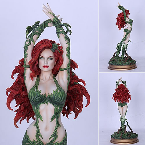 Fantasy Figure Gallery - 1/6 Scale DC Comics Collection Poison Ivy Resin Statue (Luis Royo) (Brand: Yamato)