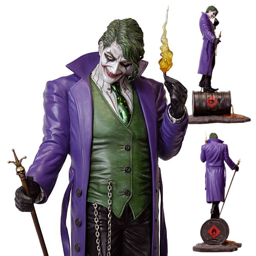 Fantasy Figure Gallery Statues - 1/6 Scale DC Comics Collection The Joker Resin Statue (Luis Royo) (Brand: Yamato)