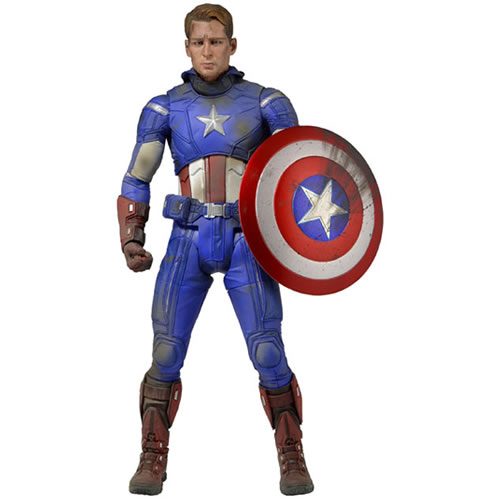 Captain America 1/4 Scale Figure - Battle Damaged Version (Brand: )