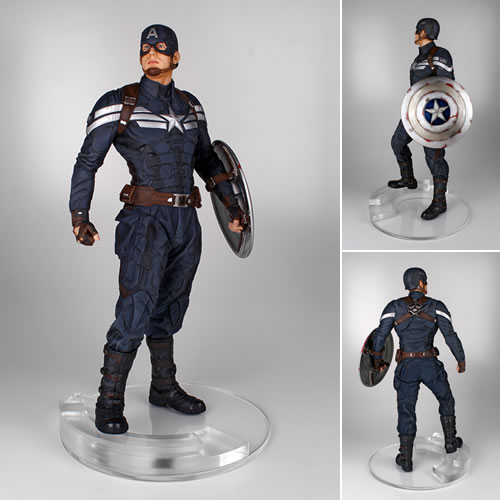 Captain America 2 Movie TWS Statue - Captain America Stealth Version (Brand: Gentle Giant)