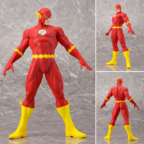 DC Comics ArtFX Statues - The Flash (Brand: Kotobukiya)