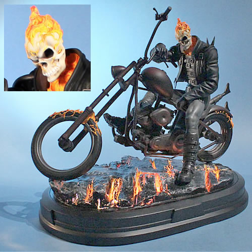 Ghost Rider Statue (Brand: Gentle Giant)