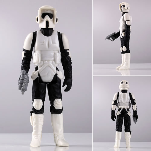 Kenner 12'' Star Wars Figure - Biker Scout (Brand: Gentle Giant)