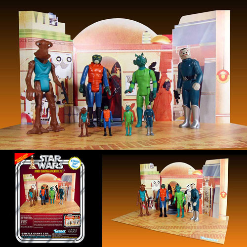 Kenner 12'' Star Wars Figure - Cantina Playset (Brand: Gentle Giant)