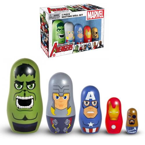 Nesting Dolls - Marvel Comics - Avengers Movie (Brand: )