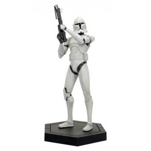 Star Wars CW Maquette - White Clone Trooper (Brand: Gentle Giant)