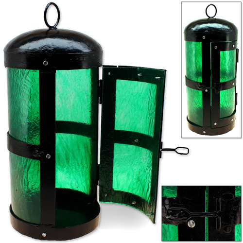 Gothic Lantern Renaissance European Prop, League of Thresh, Green Lantern Legends, Prop Candle Light, LoL (Brand: )