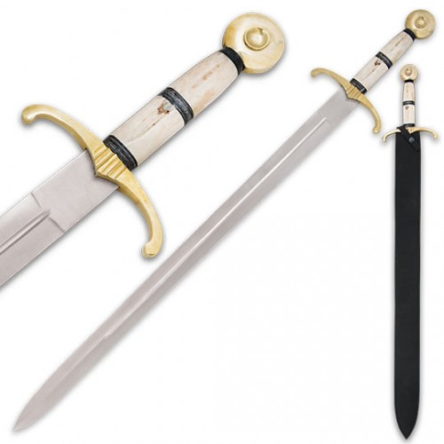 Camelot Bone Handle Sword (Brand: )