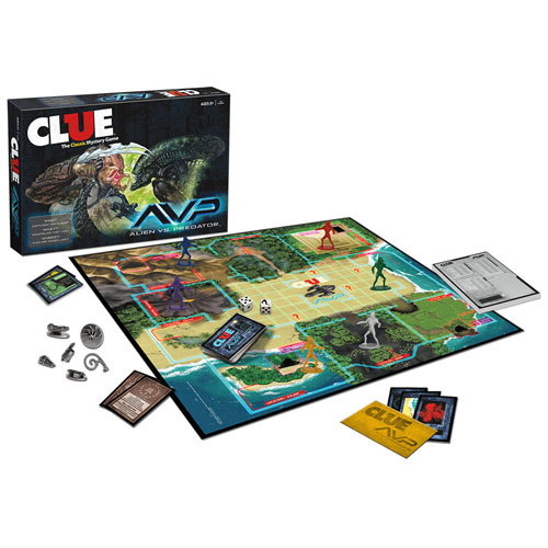 Boardgames - Clue - Alien Vs Predator (Brand: )