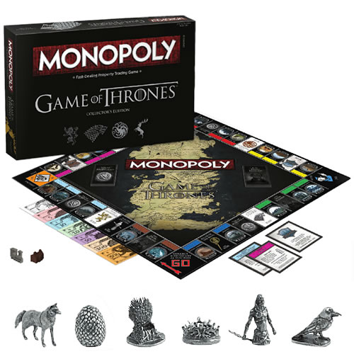Boardgames - Monopoly Game of Thrones (Brand: )