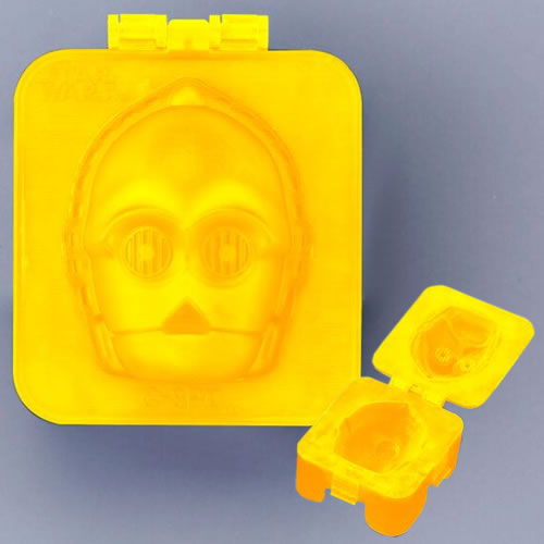 Boiled Egg Shapers - Star Wars - C-3PO (Brand: Kotobukiya)