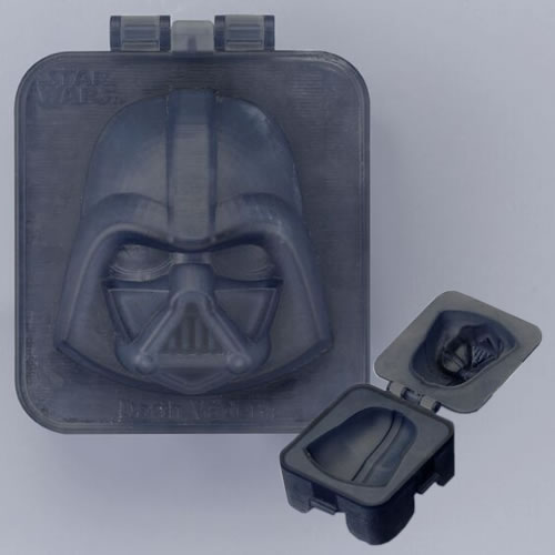 Boiled Egg Shapers - Star Wars - Darth Vader (Brand: Kotobukiya)