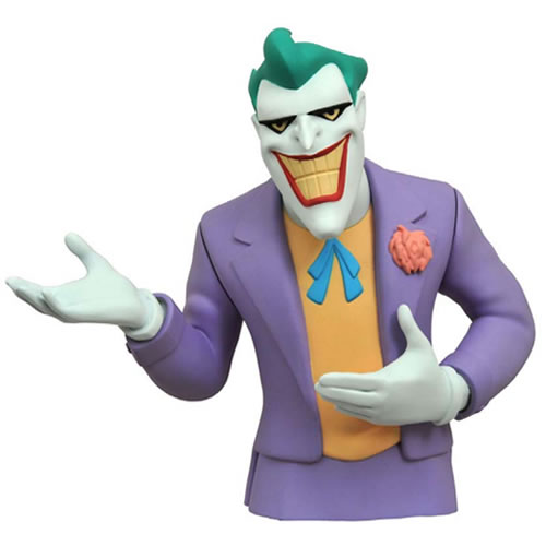 DC Banks - Batman The Animated Series - Joker Bust Bank image