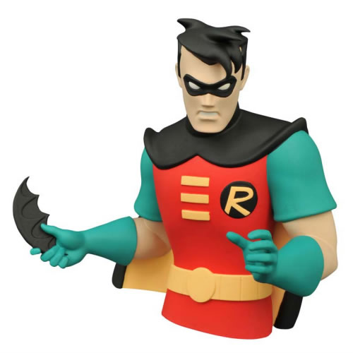 DC Banks - Batman The Animated Series - Robin Bust Bank (Brand: )