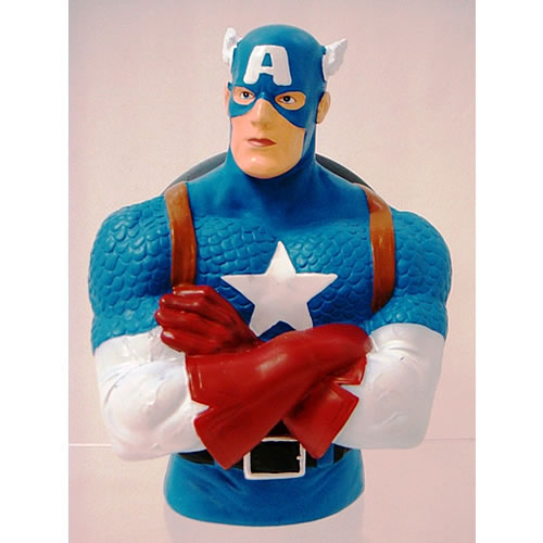 Marvel Bank - Captain America Bust image