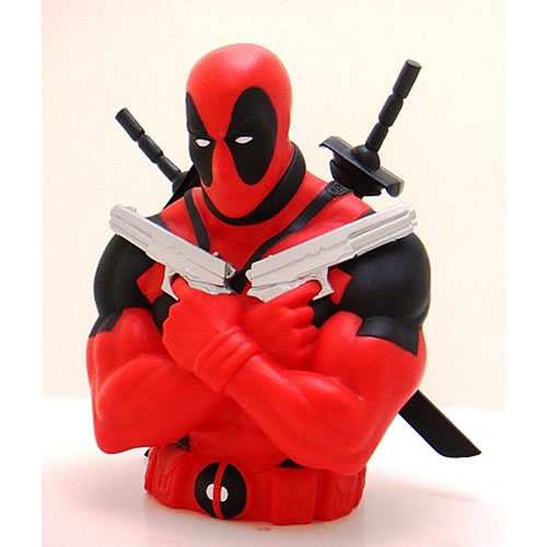 Marvel Bank - Deadpool Bust (Brand: )