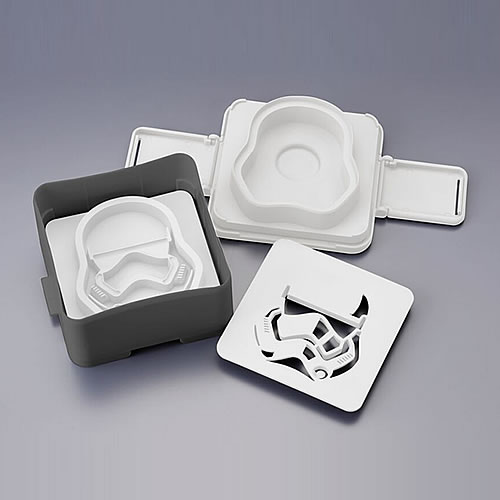 Pouch Sandwich Shapers - Star Wars - First Order Stormtrooper image