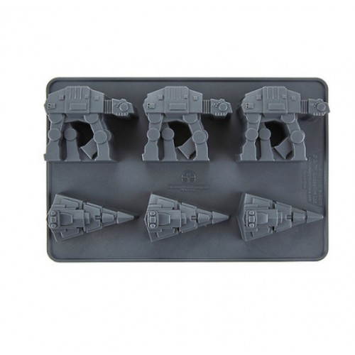 Star Wars AT-AT and Imperial Star Destroyer Ice Cube Tray (Brand: )